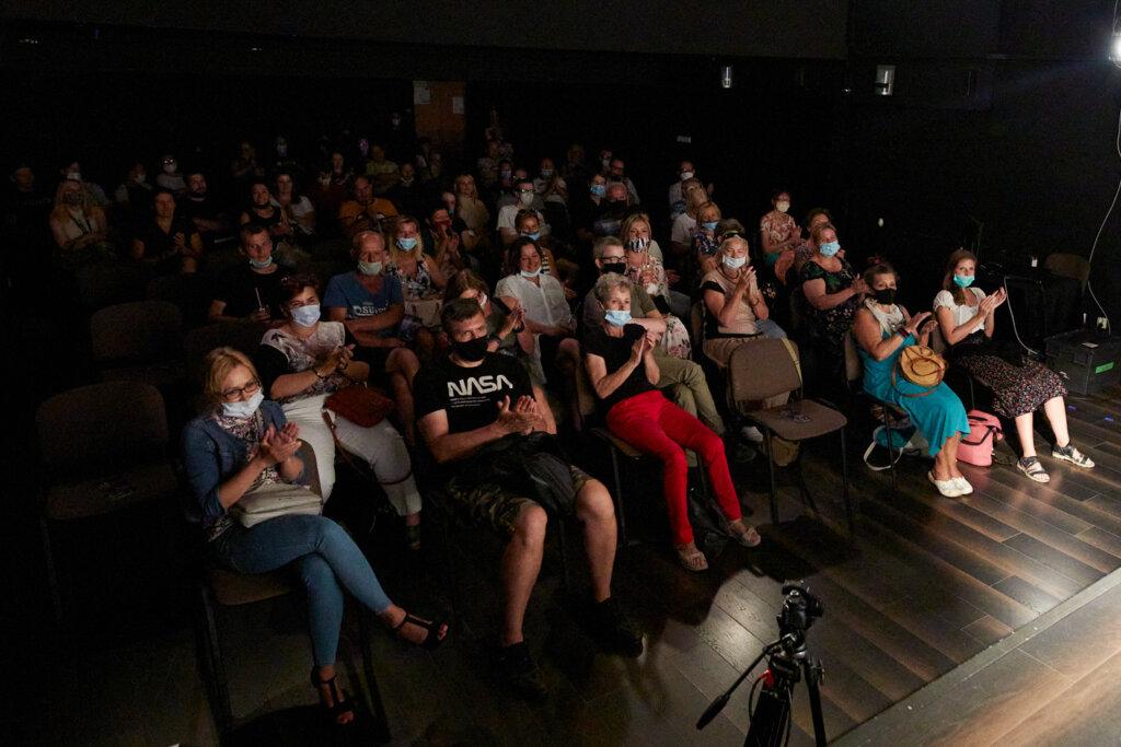 Publiczność podczas spotkania z Gabrielą Muskałą w ramach 15. DWF