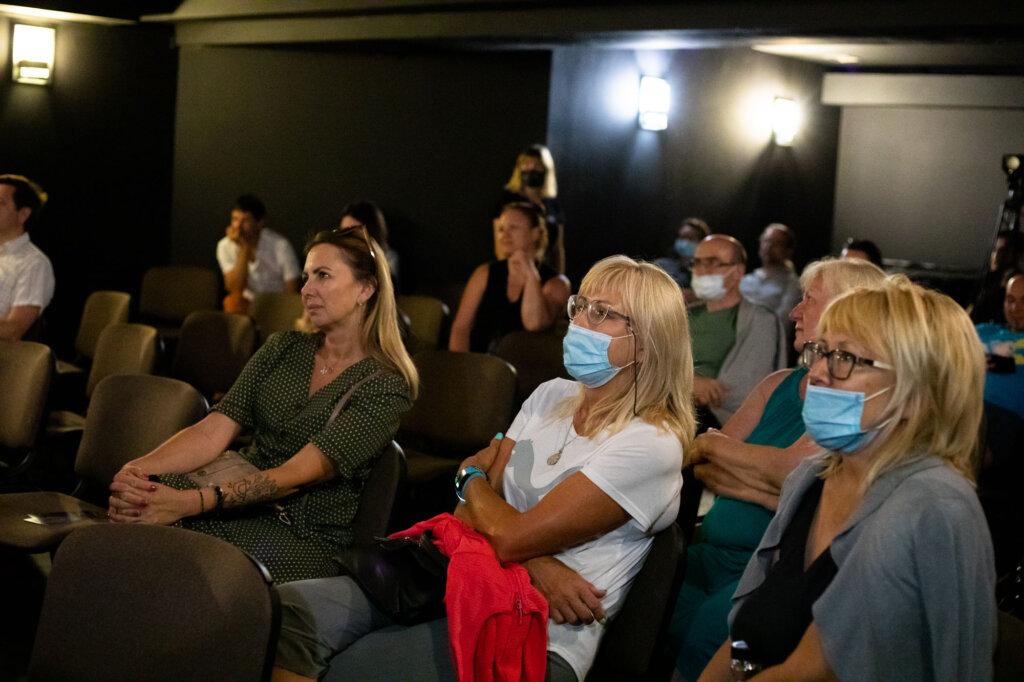 Publiczność podczas spotkania z Karoliną Bruchnicką w ramach 15. DWF