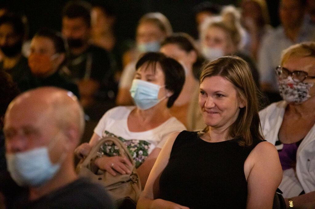 Publiczność podczas spotkania ze Zbigniewem Zamachowskim w ramach 15. DWF